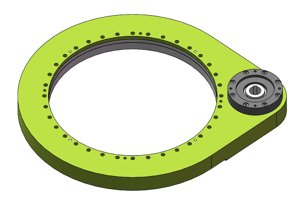 spur gear slew drive