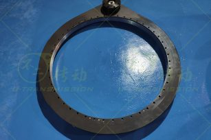 S-II-O-1091-MC medium load external gear full protection spur gear precision slewing drive (rotation accuracy ≤0.01°)