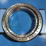 WE-III-O-32 precision heavy-load copper worm gear double worm shaft full protection worm gear worm shaft type slewing drive