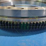 SE-II-O-32 Medium Load Full Protection Worm Gear Worm Shaft Type Slewing Drive