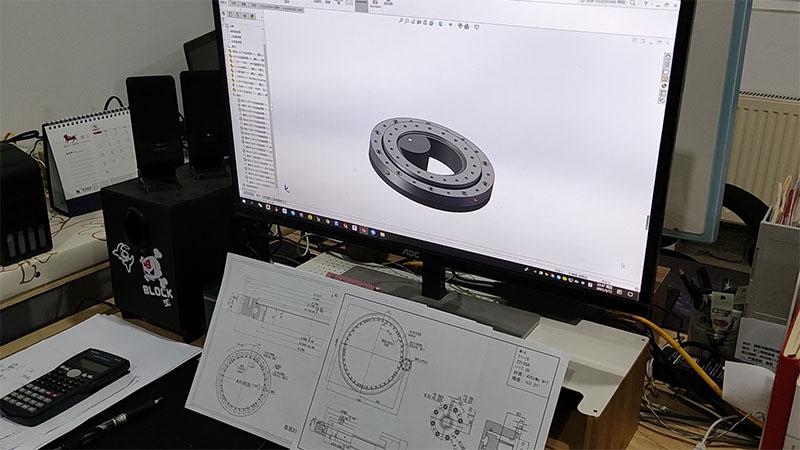 design slew drive
