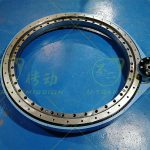 The project design of external gear same direction flange precision spur gear slew drive