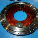Internal Gear Double Drive Spur Gear Slew Drive Design Solution