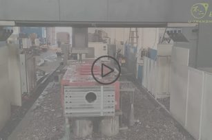 Full version video of processing mining equipment box by super large processing center