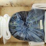 WEA7 customized worm gear worm shaft slewing drive