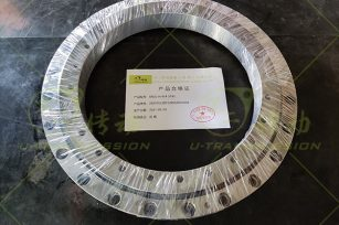 Introduction to the assembly process of the slewing bearing