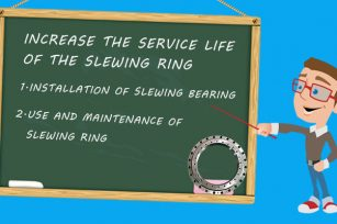 How could we increase the slewing bearing service life?
