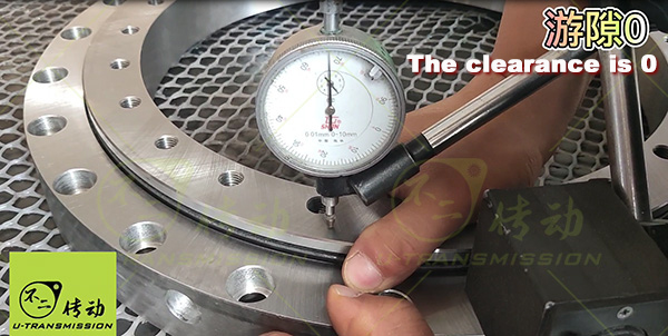 slewing ring clearance