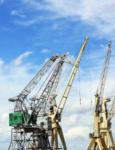 Port lifting equipment