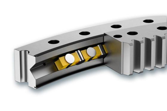 Single row crossed roller slewing ring