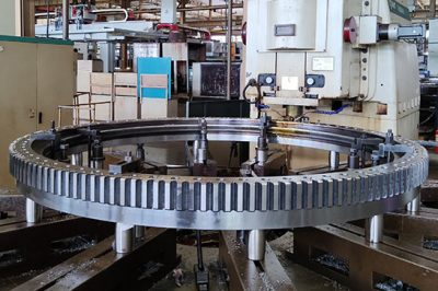 How to improve the slewing bearing's gear processing efficiency?