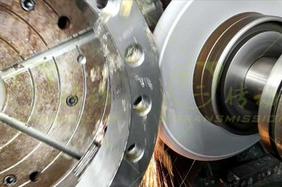 How to measure the slewing ring diameter?