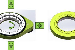 Introduction to the protection level of the spur gear slew drive