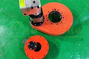 SP-I-0260 external gear precision spur gear slewing drive